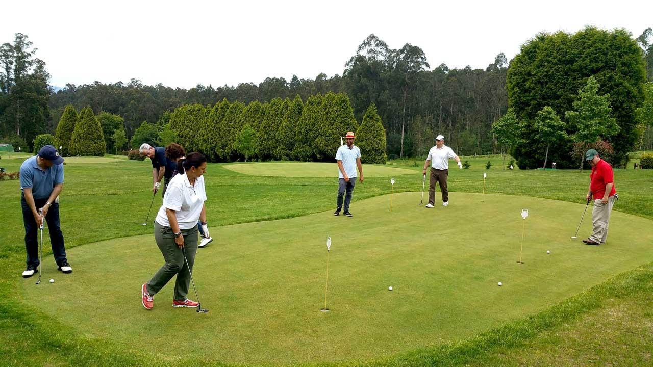 Clases de golf en Paderne