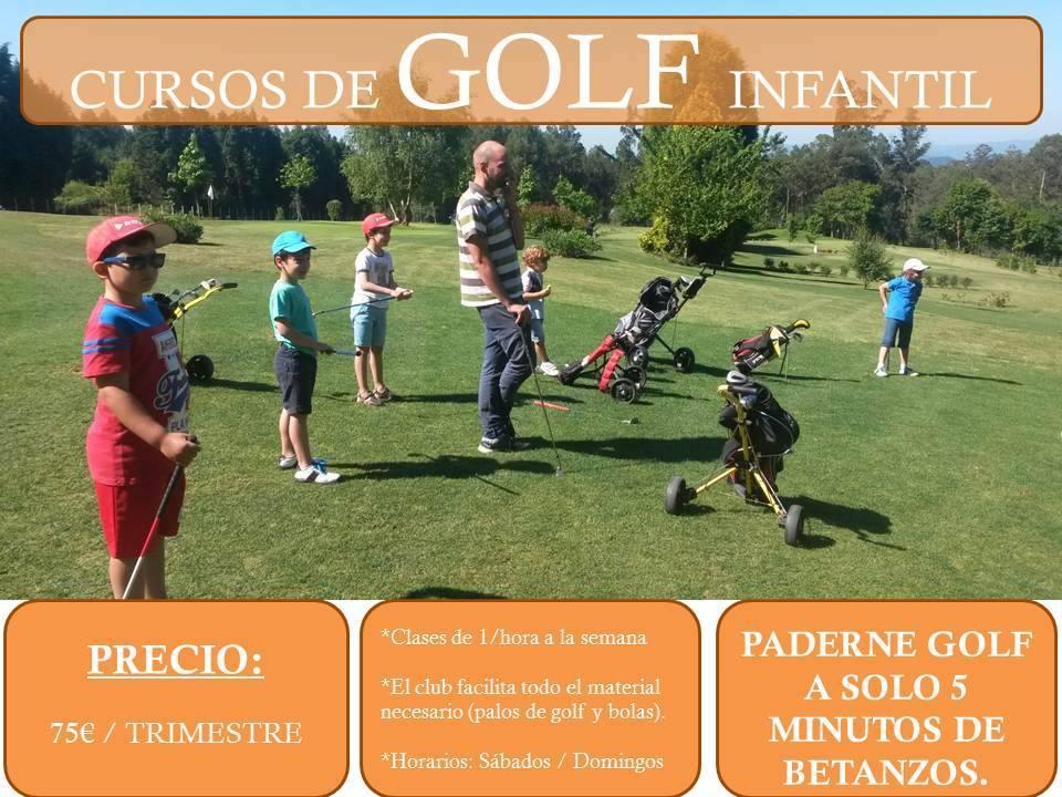 Cursos de golf para niños en A Coruña
