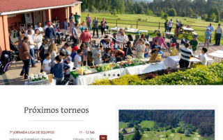 Página web golfpaderne.com
