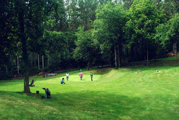 Hoyo 14 - Club de Golf Paderne