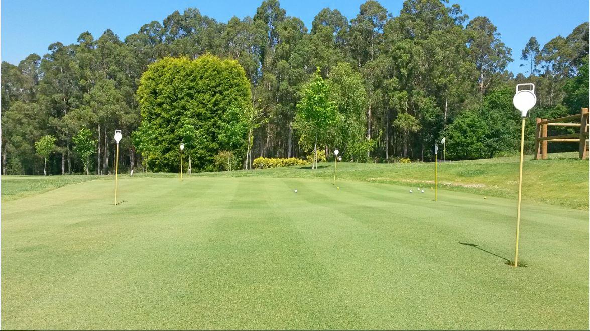 Putting Green del Club de Golf Paderne
